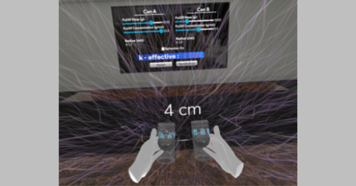 Cerberus Receives ARC Funding to Develop Criticality Safety VR Training Software